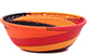 African Basket - Zulu Wire - Small Wide Bowl #79494
