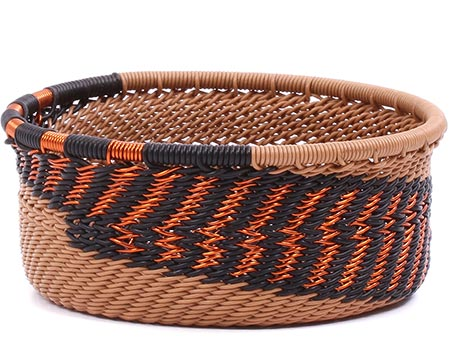 African Basket - Zulu Wire - Small Bowl with Straight Sides #79503