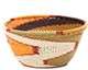 African Basket - Zulu Wire - Small Bowl #79508