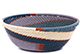 African Basket - Zulu Wire - Small Wide Bowl #79520