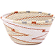 African Basket - Zulu Wire - Small Bowl #79522