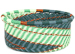African Basket - Zulu Wire - Small Bowl with Straight Sides #95972