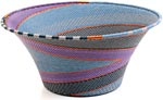 African Basket - Zulu Wire - Large Flared Bowl #9955