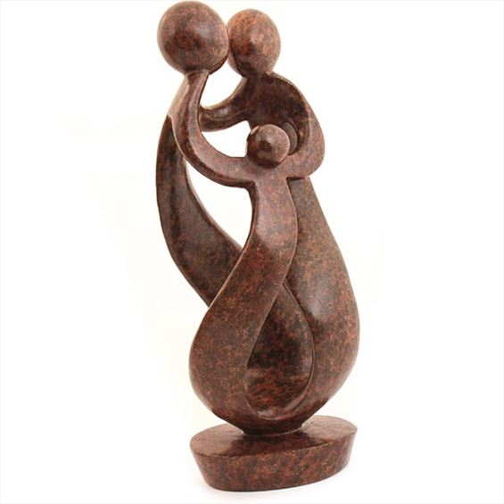 Shona Stone Sculpture - 15 Inches Tall - #SS007