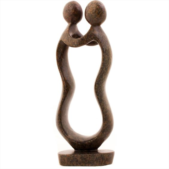 Shona Stone Sculpture - 12.5 Inches Tall - #SS021