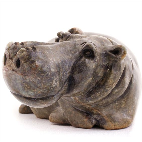 Shona Stone Sculpture -  2 Inches Tall - #SS066