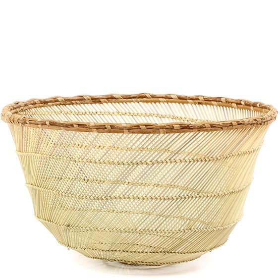 African Basket - Mossi Sieve Basket - 13 Inches Across - #76006